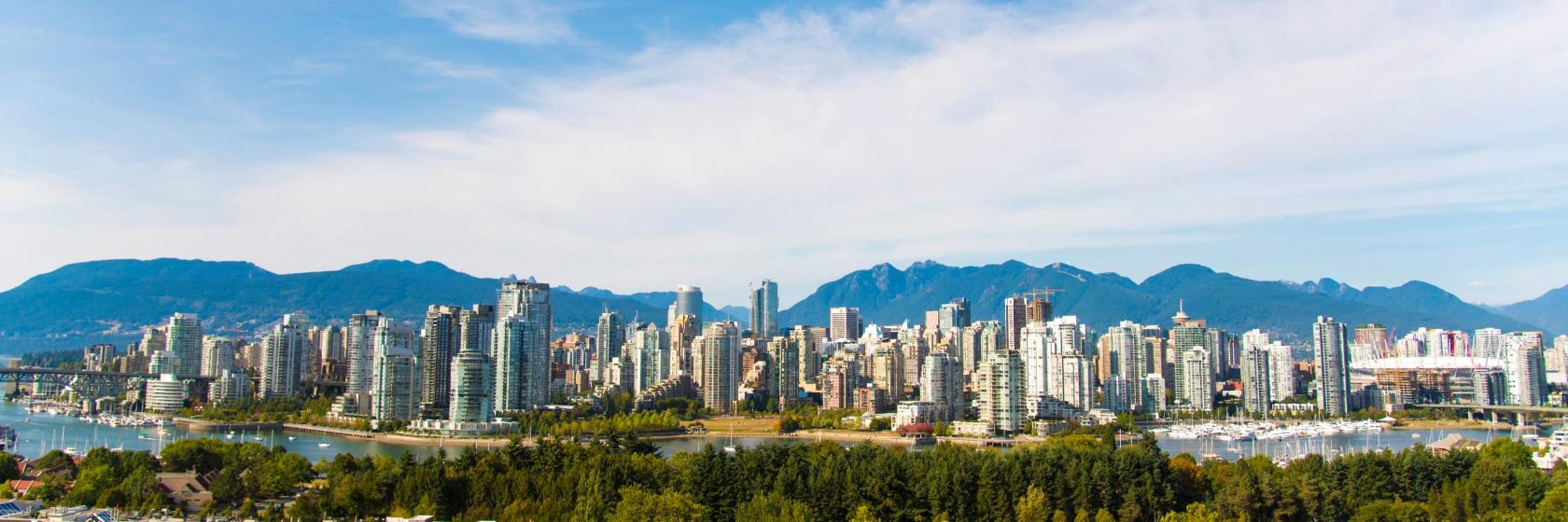 Vancouver Hotels, Accommodation in British Columbia
