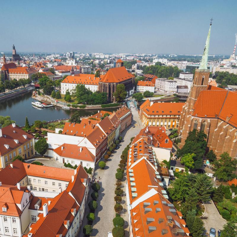 The 30 best hotels in wroc aw poland for Top design hotels poland