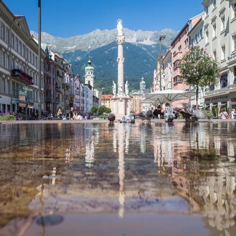 Vieille Ville D Innsbruck En Autriche