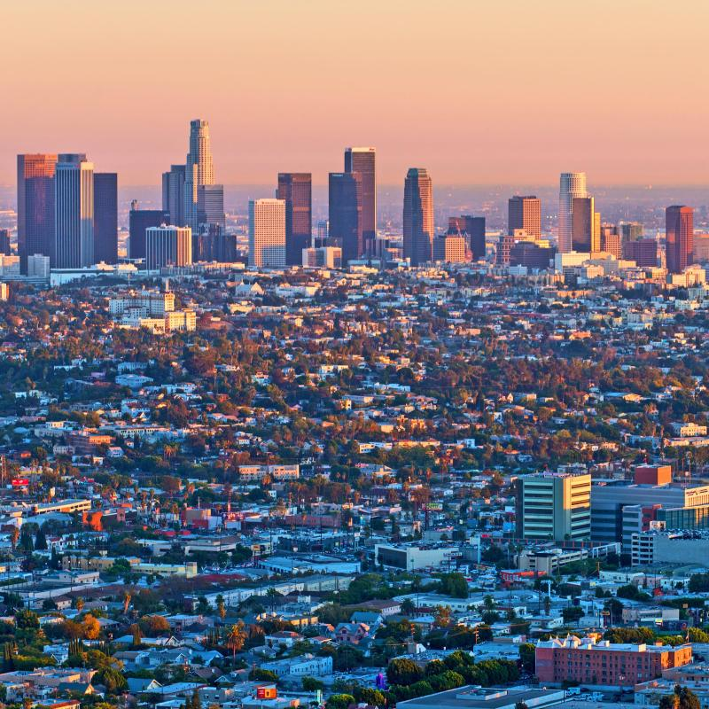What is time in los angeles california