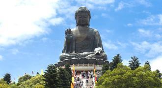 The Giant Buddha of Lantau Island (Tian Tan Buddha)