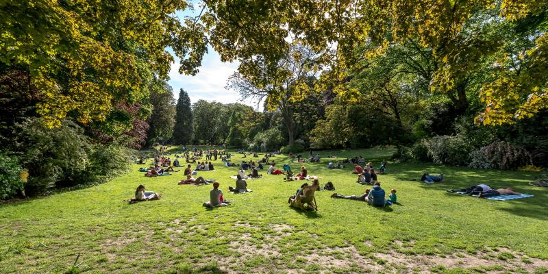 Things to do in lille for Jardin vauban lille