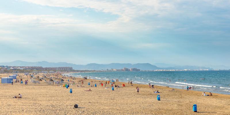 Cosa fare a valencia for Spiaggia malvarrosa valencia
