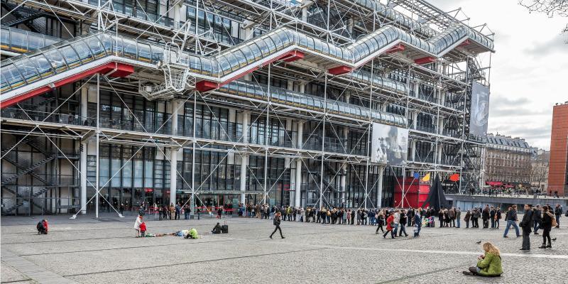 The Pompidou Centre (National Museum of Modern Art)