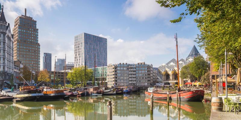 Vieux port de Rotterdam (Oude Haven)