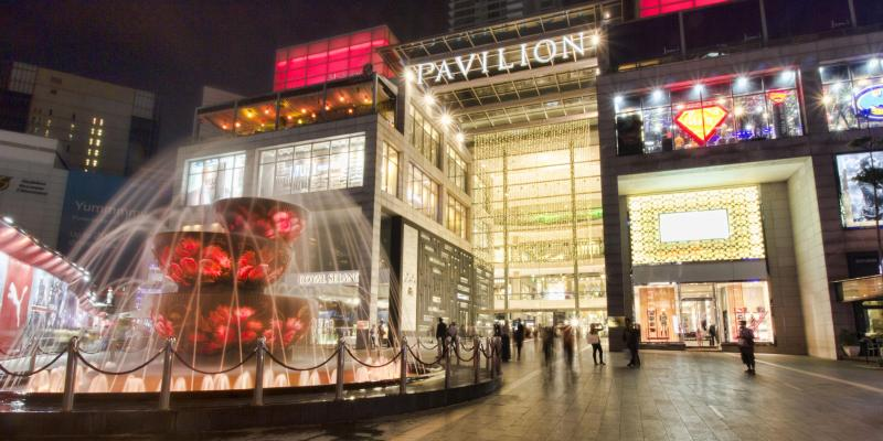 Shopping Center Pavilion Kuala Lumpur