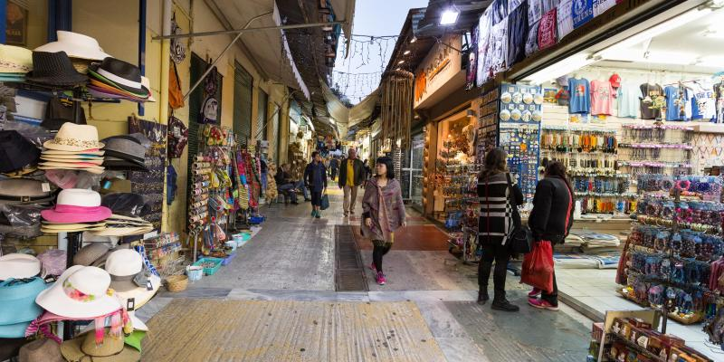 Loppmarknaden i Monastiraki