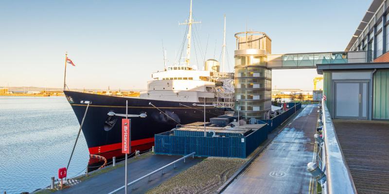 Königliche Yacht Britannia