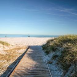 Bãi biển Dueodde, Neksø