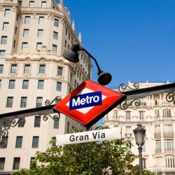 Estação de metrô Gran Vía