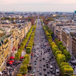 Avenida Champs-Elysées, Paris