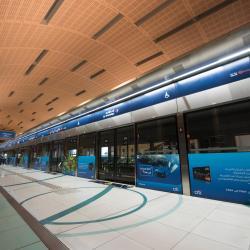 Estação de Metrô do Aeroporto de Dubai Terminal 3