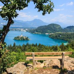 Mala Osojnica Bled Lake Viewpoint