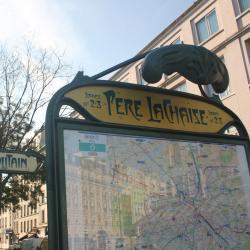 Estação de metrô Père Lachaise