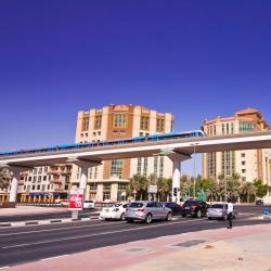 Dubai Healthcare City Metro Station