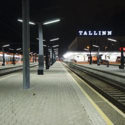 Estación de tren de Tallin