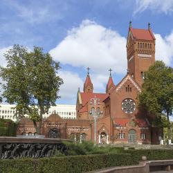 Church of Saints Simon and Helena, מינסק