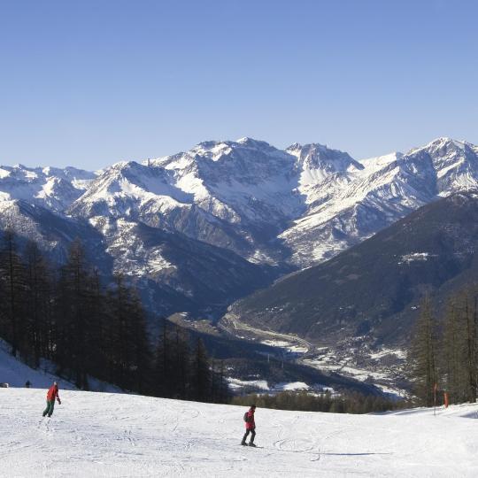 סקי בהרי האלפים
