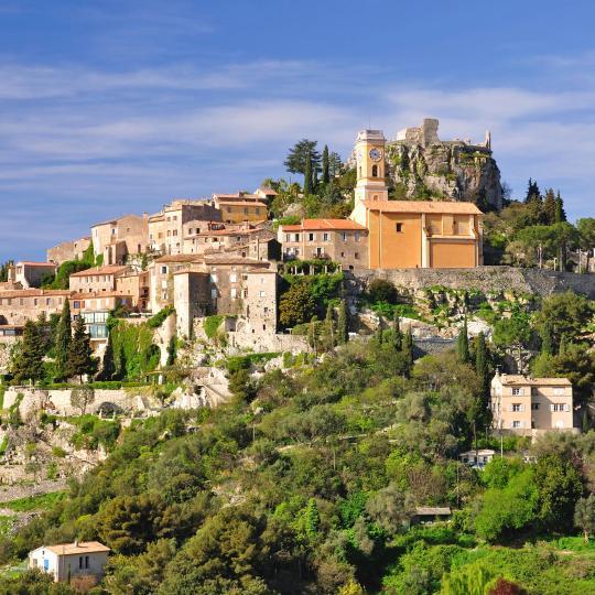 A aldeia medieval de Èze