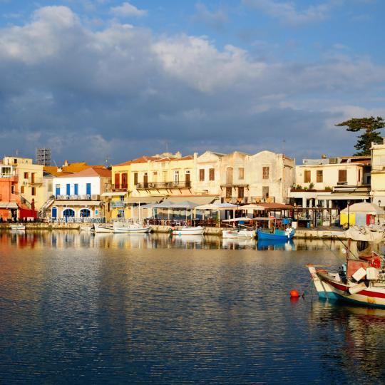 נמל ומבצר רתימנו ונציה (Rethymno Venetian)