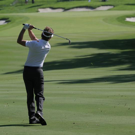 Um paraíso para golfe