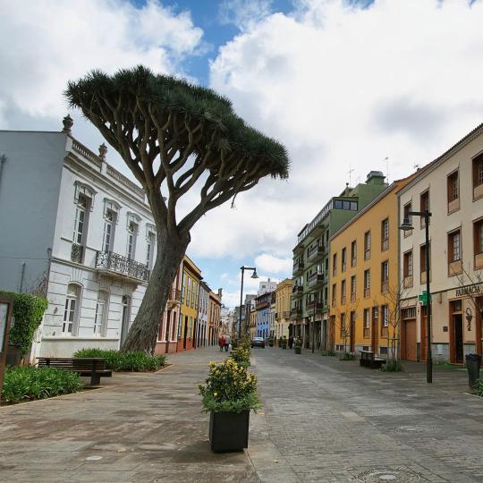 San Cristóbal De La Laguna  העיר העתיקה של