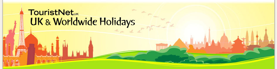 Main TouristNet Banner - Landscape scene all major monuments