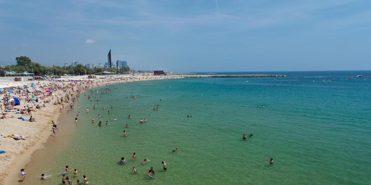 Nova Icària Beach