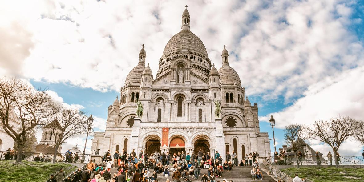 Sacre-Coeur and Montmartre district