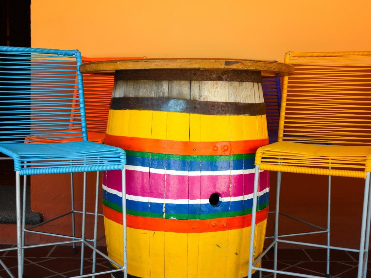 Un colorido restaurante en Córdoba