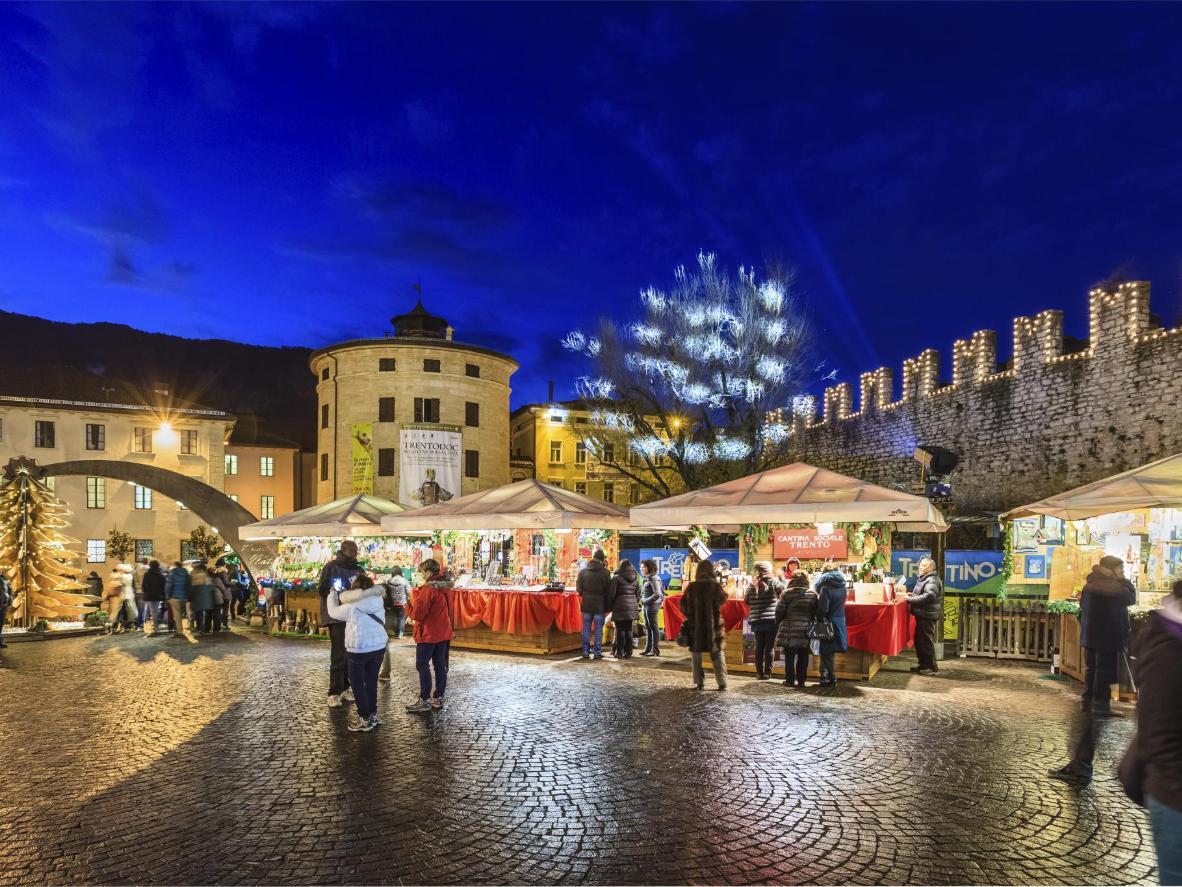 Kerstmarkt van Trento