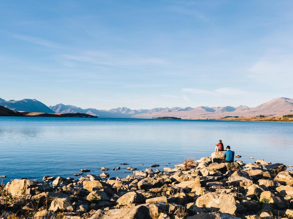 El cielo del Lago Tekapo es ideal para ver estrellas
