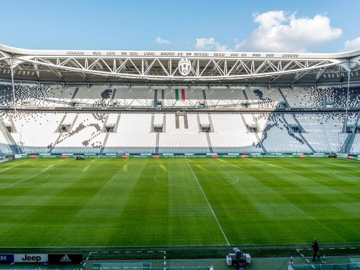 O Estádio da Juventus é a casa de um dos principais times de futebol da Itália