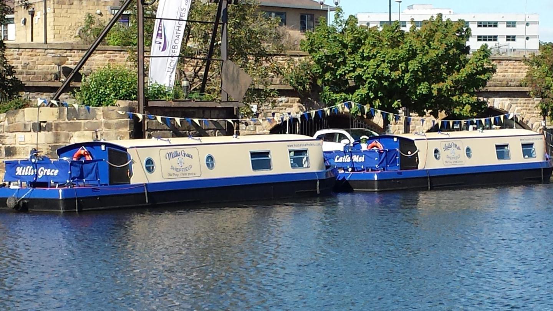 Los acogedores barcos de Sheffield son una original alternativa a alojarte en un hotel