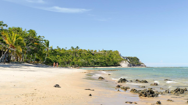 A Praia do Espelho é considerada uma das praias mais bonitas do Brasil