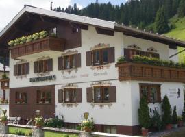 Pension Hartenfels, Lech am Arlberg