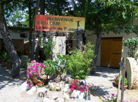 Camping Le Moulin de Thoard, Thoard