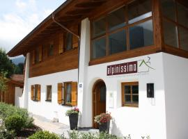 Ferienhaus Alpinissimo, Oberammergau