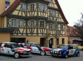 克朗餐廳酒店, Langenburg