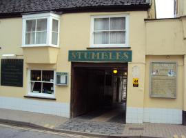 Stumbles Restaurant with Rooms, South Molton