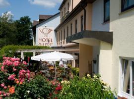 Hotel zur Post, Leipheim