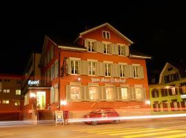 Hotel zum alten Bahnhof, Gossau
