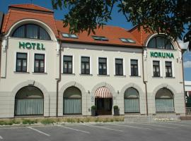 Hotel Koruna, Topoľčany