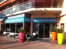 Citotel Hôtel Tiercé Beach Hotel, קאן סור מר
