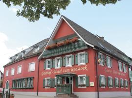 Gasthaus Hotel Rebstock, Malterdingen