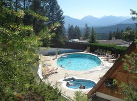 Motel Tyrol, Radium Hot Springs