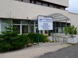 Studijne a kongresove stredisko, Modra