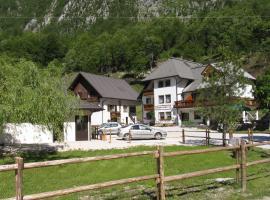 Pension Kamp Klin, Soča