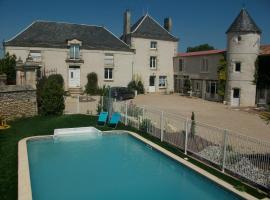 Chambres d'Hôtes Logis des Deux Tours, Vendeuvre-du-Poitou