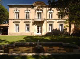 Chateau du Puits Es Pratx, Ginestas